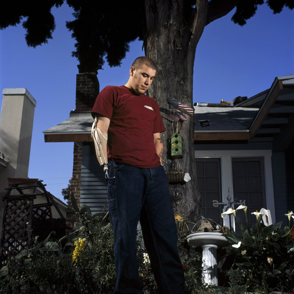 Robert Acosta, 2004 from the Purple Hearts series