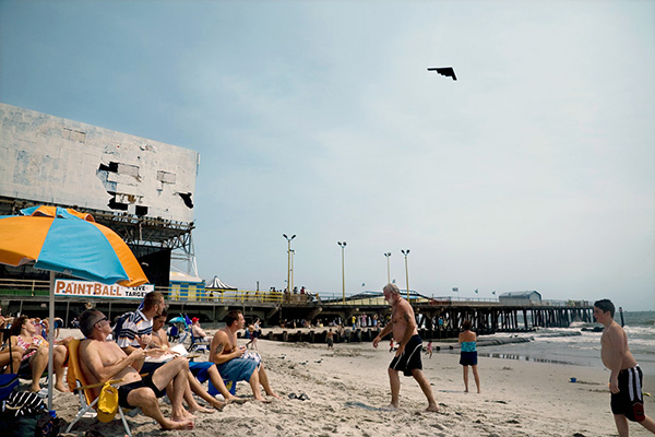 Stealth Bomber,  Atlantic City, NJ  2007